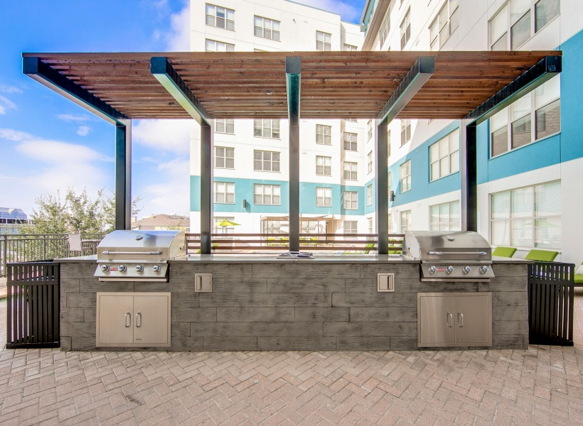 McKinney Uptown Outdoor Entertaining Kitchen